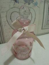 """ROSA Decorativa Vetro """"LOVE"""" BOTTLE & taglio vetro palla stopper.valentines, camera da letto"""