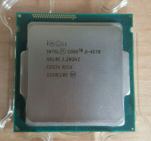 Intel Core i5 4570 Prozessor + Kühler (3,2GHz, Sockel LGA1150, 6MB Cache)
