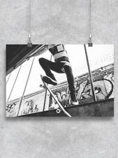 New listing Skateboard Extreme Sport Poster -Image by Shutterstock