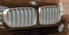 BMW Brand 2014+ F15 X5 OEM Genuine Pure Experience Titanium Front Grille Pair