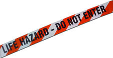 Les experts Bande police Danger de Mort Life hazard do not enter tape