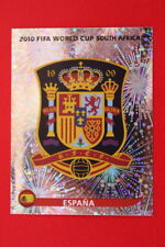 Panini WORLD CUP SOUTH AFRICA 2010 N. 563 ESPANA BADGE  MINT!!