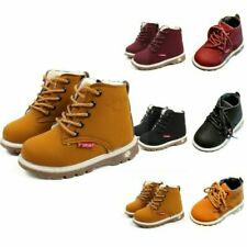 Girls Boys Classic Martin Boots Winter Toddler Cool Boots Shoes Size 5-9.5 HOT