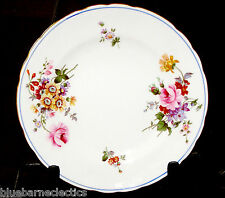 """Vintage Royal Crown Derby Posies6 3/8"""" Bread & Butter Plate(s) Blue & Gold Edge"""