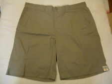 Men's St. John's Bay Legacy Flat Front Shorts Wild Dove  Size 40 NEW