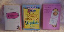 Lot of 5 Sophie Kinsella Books Shopaholic & Baby Keep A Secret Shopaholic