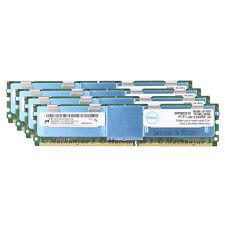 Micron 32GB 4x8GB 4Rx4 PC2-5300F DDR2-667MHz 240pin ECC FB-DIMM Server Memory