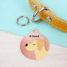 Golden Retriever Tag Golden Retriever Gifts Dog Tag Dog Id Tag Personalised Tags