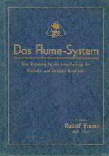 Flume System Band 1 Beratung für Planung Lager Reparatur Uhren Wecker 1962