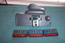 New listing Vintage Flash Mfg. Co. Heavy Duty Box Opener With 3 Boxes New Blades