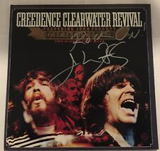 John Fogerty Signed Chronicle Greatest HiTs Lp Album CCR Auto JSA#R77233 RockOn!