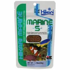 Hikari MARINE S 50g Pellet Fish Food Great For Smaller Marine Fish SINKING TYPE