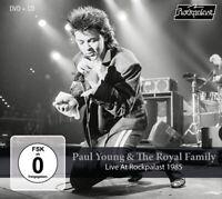 PAUL YOUNG & THE ROYAL FAMILY - LIVE AT ROCKPALAST 1985   CD+DVD NEU