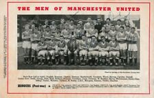 More details for multi-signed autographed football programme manchester united v young boys 1958
