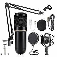 Mikrofon Studio Kondensator Set Studio Tisch Professionell Podcast Aufnahme