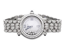 Pre-Owned Womens 30 mm Chopard Happy Sport 27/8236-23 Diamond Watch with 7.5 Ct