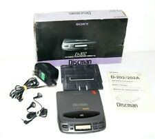 Sony-Discman d-202 walkman CD Player portátil con embalaje original