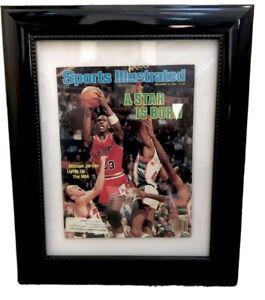 Sports Illustrated December 10, 1984 Jordan A star is born framed