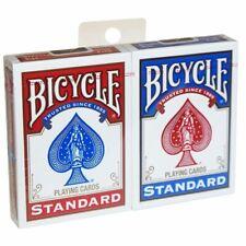 Bicycle Standard Index 2 Pack 2 Jeu de Cartes de Poker idéal pour la magie