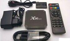 X96mini Smart Android 7.1 TV Box S905w Quad Core H.265 2gb / 16gb Wifi Media