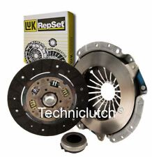 LUK 3 PART CLUTCH KIT FOR FORD TAUNUS 17M SALOON 2.0