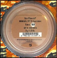 bare minerals escentuals spf 15 foundation-tan n30 - 8g-xl-neu in verpackung kostenloser versand