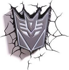 Transformers 3D Decepticon Shield Nightlight