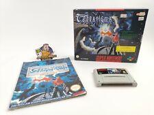 "Super Nintendo Spiel "" Terranigma "" Snes | Ovp | Pal | Big Box"
