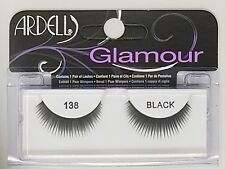 (LOT OF 72) Ardell Glamour Lashes #138 Fake Eyelashes False Eyelash Black