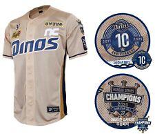 KBO NC Dinos Team Authentic Pro GOLD Jersey Uniform Shirts Player Marked Unisex