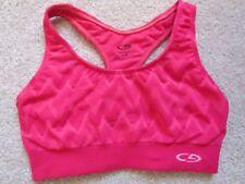 Champion Women's pink color bra Small running yoga tennis kickboxing pilates