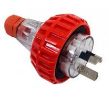 3PIN 15AMP - Straight Industrial Plug
