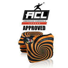 Beer Belly Bags Cornhole  set of 4 ACL Approved Resin Filled Stick/Slide