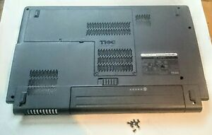 Dell Studio 1555 PP39L Bottom Base Chassis + Cover, Old Battery & Screws 0W939J