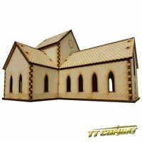 TTCombat - World War Scenics - Church, great for Tanks & Flames Of War
