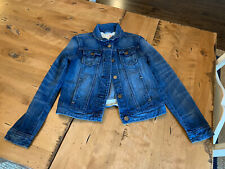 Jcrew Crewcuts Girls Denim Jacket Size 12 EUC
