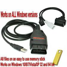 Galletto 1260 OBD OBD2 EOBD Herramienta de Afinación ECU Remap Flasher Cable USB PC plomo Reino Unido
