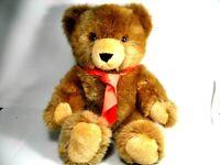 HERMANN TEDDY ORIGINAL GROSSE BÄR,MADE IN WESTERN GERMANY WIE NEU UNBESPIELT
