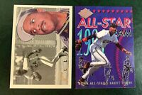 Barry Bonds 2 card All-Star insert lot #7 and #16  - Giants