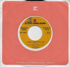 THE KINKS  A Well Respected Man / Set Me Free  rare 45