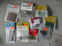 Lot of 9 HO Scale Scale Accessories and Trim Parts NIP