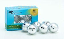 Chromax M5 Metallic High Visibility 6-pack Silver Golf Balls