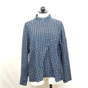 L.L Bean Women's Navy Fleece Sweater | XL