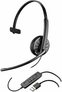 Refurbished Plantronics Blackwire C315 Mono USB Corded Computer Headset TESTED