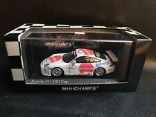 MINICHAMPS PORSCHE 911 GT3 CUP #27 CARRERA CUP 1/43 LIMITED DIECAST NO SPARK IXO
