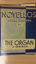 Novellos Music Primers No. 3: Stainer: Organ: Music Score