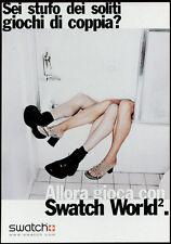 cartolina pubblicitaria PROMOCARD n.2336 SWATCH OROLOGI