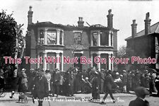 ES 760 - Wrecked House, London Road, Southend On Sea, Essex 1915 - 6x4 Photo