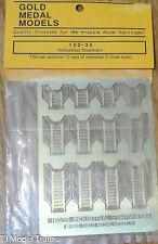 Gold Metal Models #16035 Industrial Stairways (N Scale) Brass Metal Parts