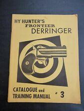 Vintage Original 1950's Hy Hunter Derringer Collector'S Catalog No. 3 Burbank Ca